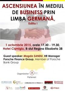 Ascensiunea în mediul de business prin limba germană