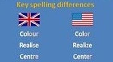 De unde vin diferențele de ortografie în engleza britanică și cea americană?