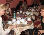 Reuniune traineri si colaboratori A_BEST la ceainarie