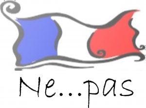 negatia in limba franceza