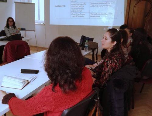 """""""Cum să folosim muzica la orele de curs"""", atelier de predare modernă pentru profesorii de limbi străine"""