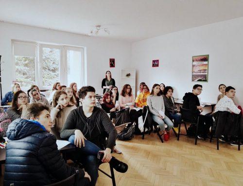 Atelier interactiv organizat de A_BEST, pentru a celebra Ziua Europeană a Limbilor Străine