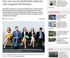Care este cea mai dorita limba straina de catre angajatorii din România Mediafax